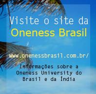 Site com informações da Oneness University no Brasil e na Índia.